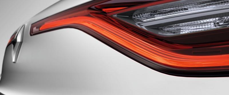 چراغهای عقب LED  با فناوری نوردهی سه بعدی